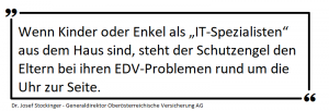 Statement Hilfe bei Computerproblemen